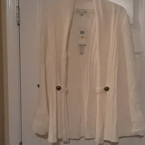 Beautiful new long sweater from. Carolyn Taylor